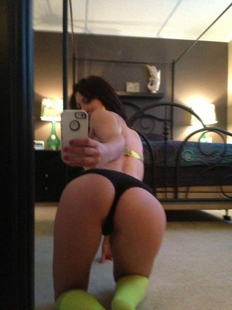 Nice self shot of ass from the back